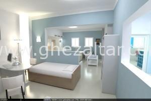 Aménagement intérieur et décoration d'un appartement.