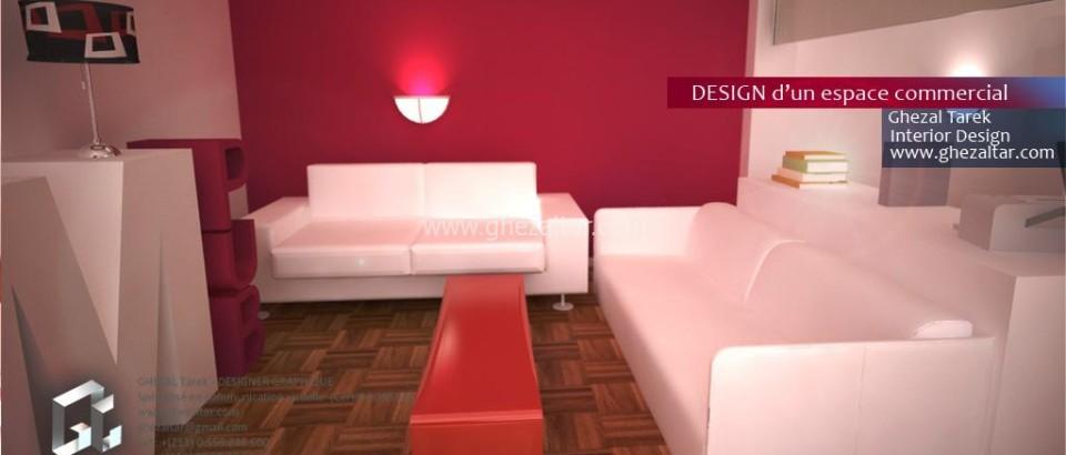 Design d'un espace commercial