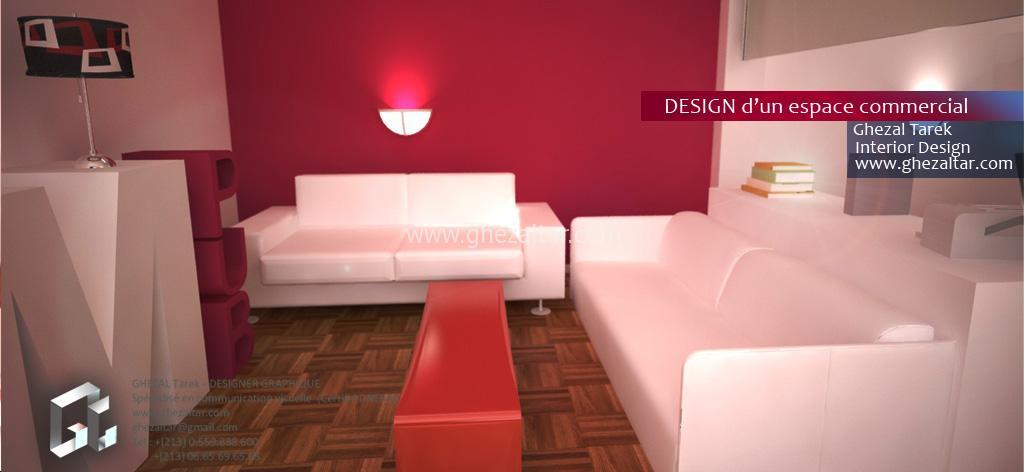 Décoration et aménagement d'un espace commercial