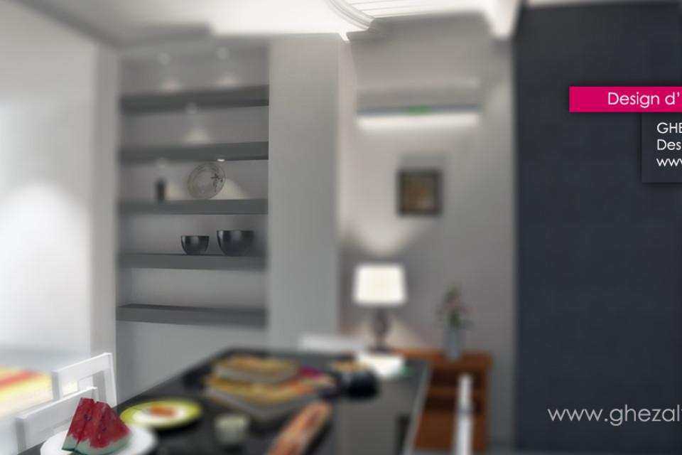 Maison en gris AVANT/APRES